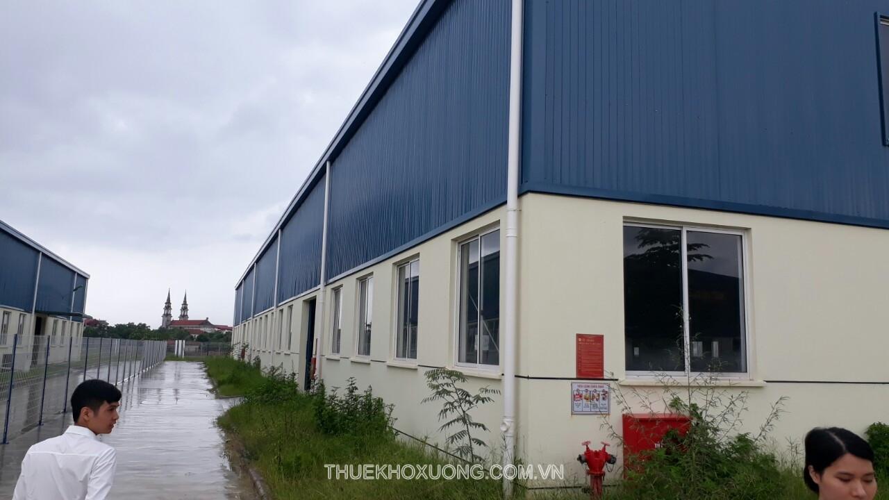 Cho thuê nhà xưởng Bắc Giang 1,500m2 KCN Vân Trung