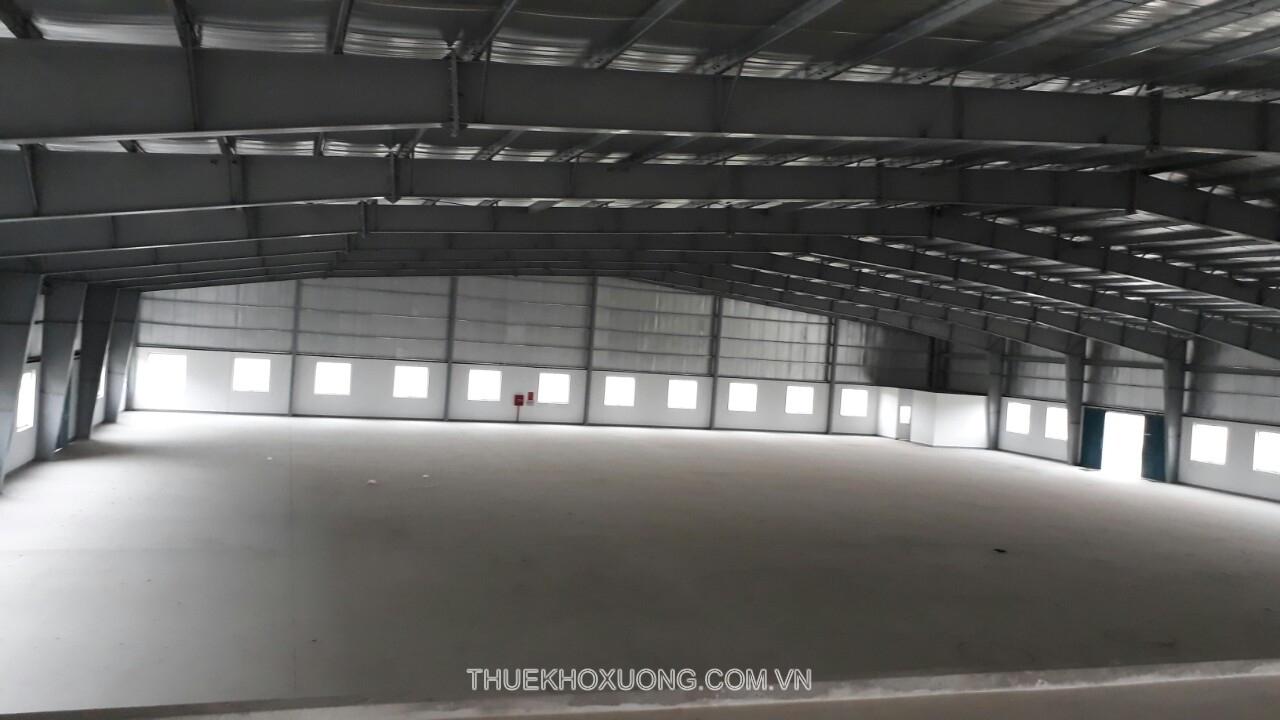 Cho thuê kho xưởng cụm công nghiệp Hạp Lĩnh 4,500m2