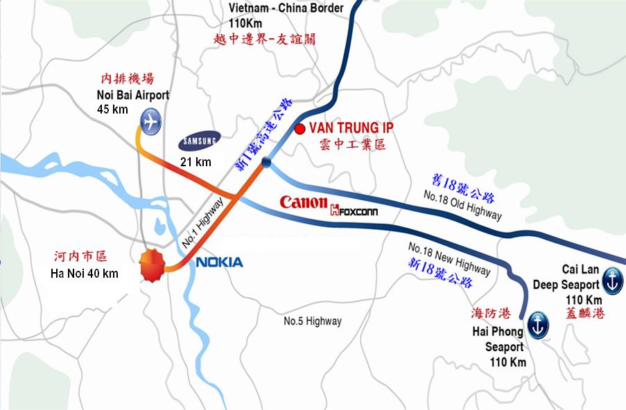 Bán Đất Khu Công Nghiệp Vân Trung - Bắc Giang