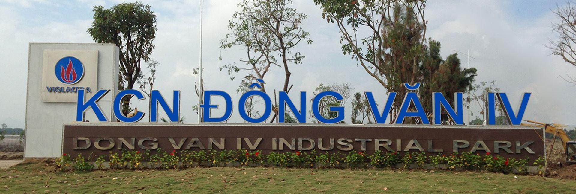 Cho thuê đất KCN Đồng Văn IV Hà Nam