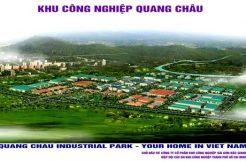 Cho thuê kho xưởng khu công nghiệp Quang Châu Bắc Giang