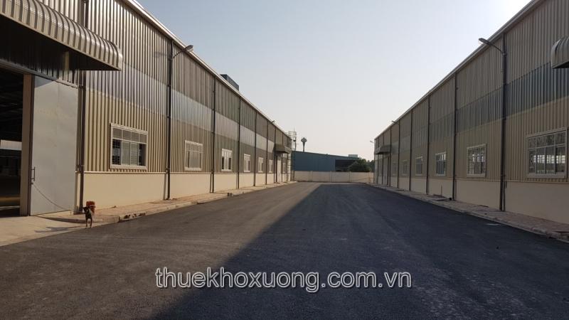 Cho thuê kho xưởng tại Thái Nguyên, KCN Điềm Thụy