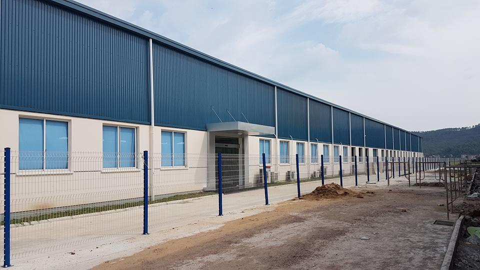 Cho Thuê Nhà Xưởng tại Bắc Giang, KCN Vân Trung 3,060m2
