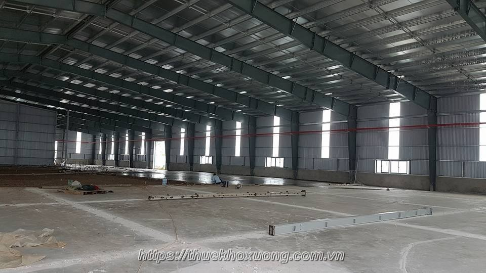 Kho xưởng cụm công nghiệp Hạp Lĩnh Cho Thuê, 2,000m2