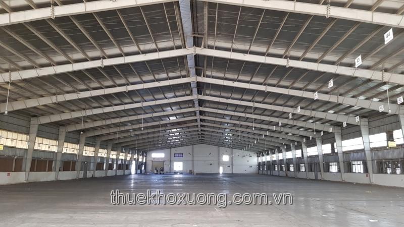 Cho thuê kho tại Bắc Giang diện tích 5,100m