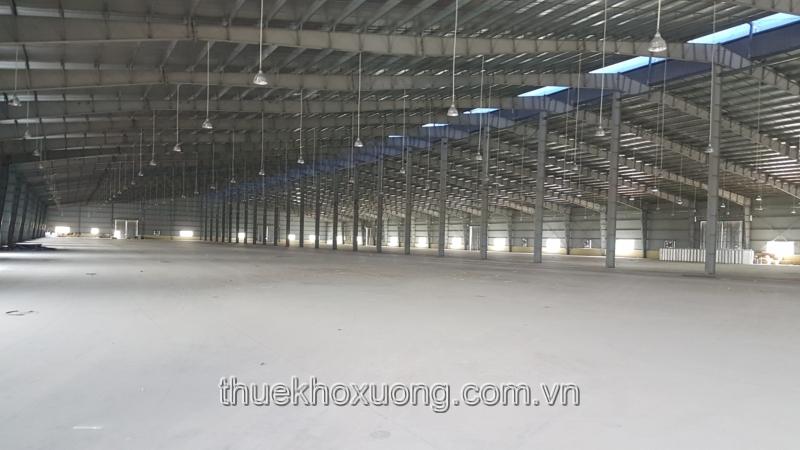 Cho thuê kho xưởng Bắc Ninh diện tích 20,000m2