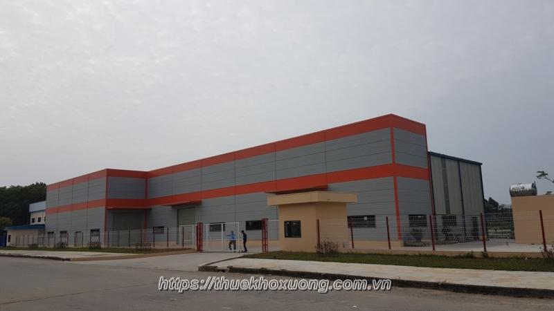 Cho thuê nhà xưởng khu công nghiệp Đình Trám