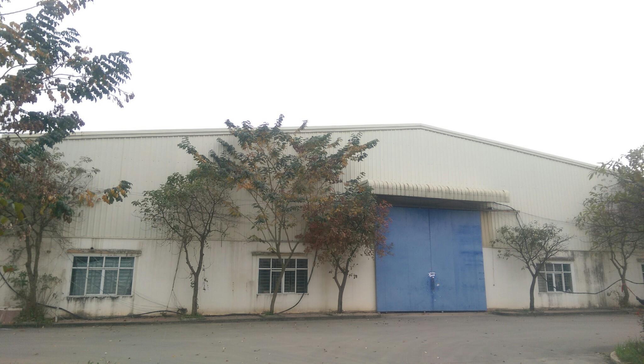 Cho thuê nhà xưởng tại huyện Bình Xuyên Vĩnh Phúc