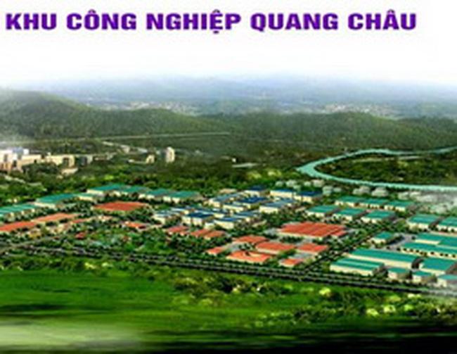 北江 Quang Chau 工业园区租赁工业用地