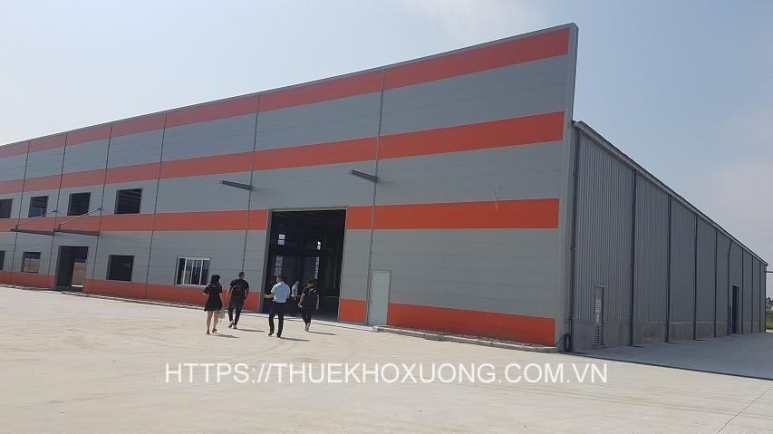 Cho thuê kho xưởng mới xây dựng tại KCN Bá Thiện I