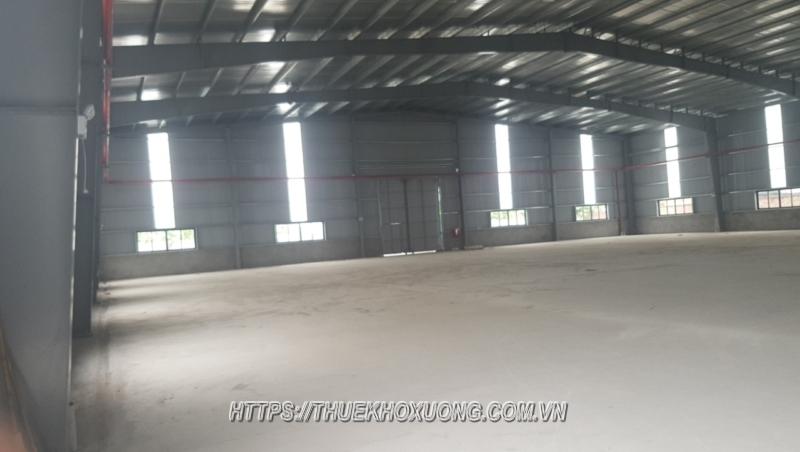 Cho thuê kho xưởng cụm công nghiệp Hạp Lĩnh 1,500m2