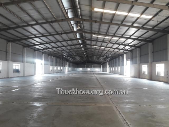 Cho thuê kho xưởng tại KCN Đình Trám Băc Giang